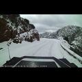 Riding in the Snow on Corsica